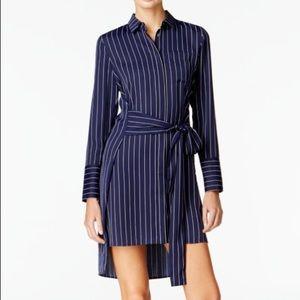 Armani Exchange   High Low shirt dress